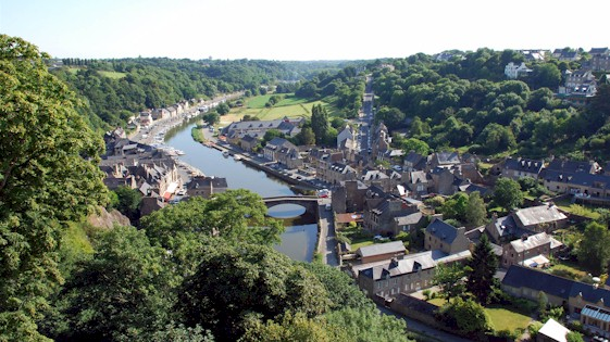 French Town Dinan